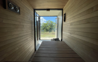 Sauna mit Blick zum Nature